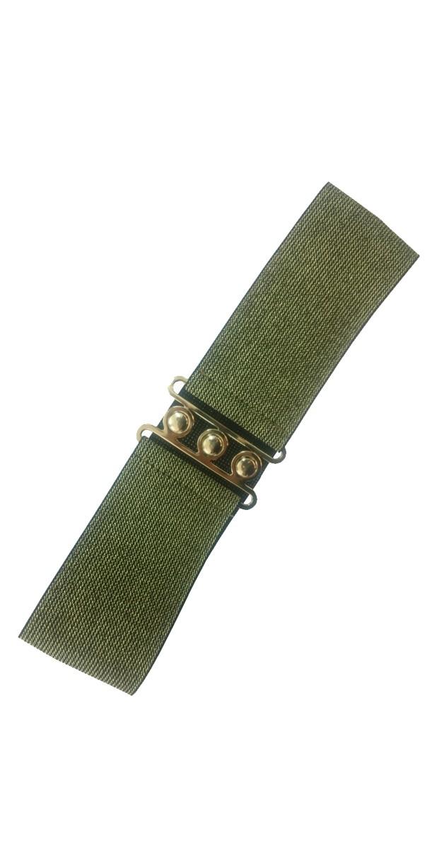Pin Up Accessoires -50er Jahre Gürtel - Gold
