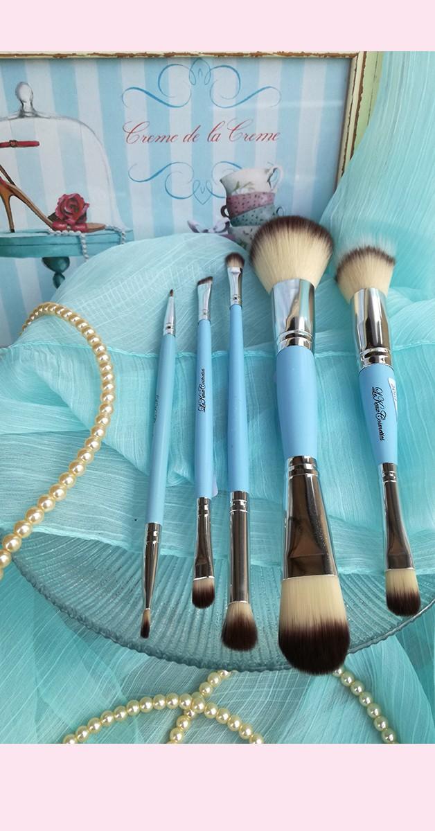 Vintage Make Up - Lippen & Eyeliner Pinsel