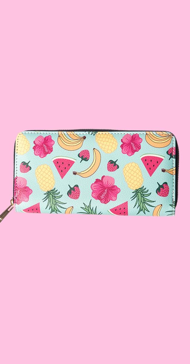 Vintage Accessoires - Tutti Frutti Brieftasche