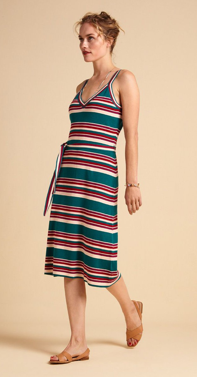 Retro Mode- Kleid - Isa Cami Dress Playa Stripe