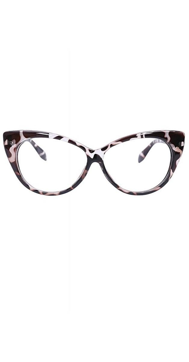 Vintage 50er Accessoires Brille - Sam Glasses - tortoiseshell muster