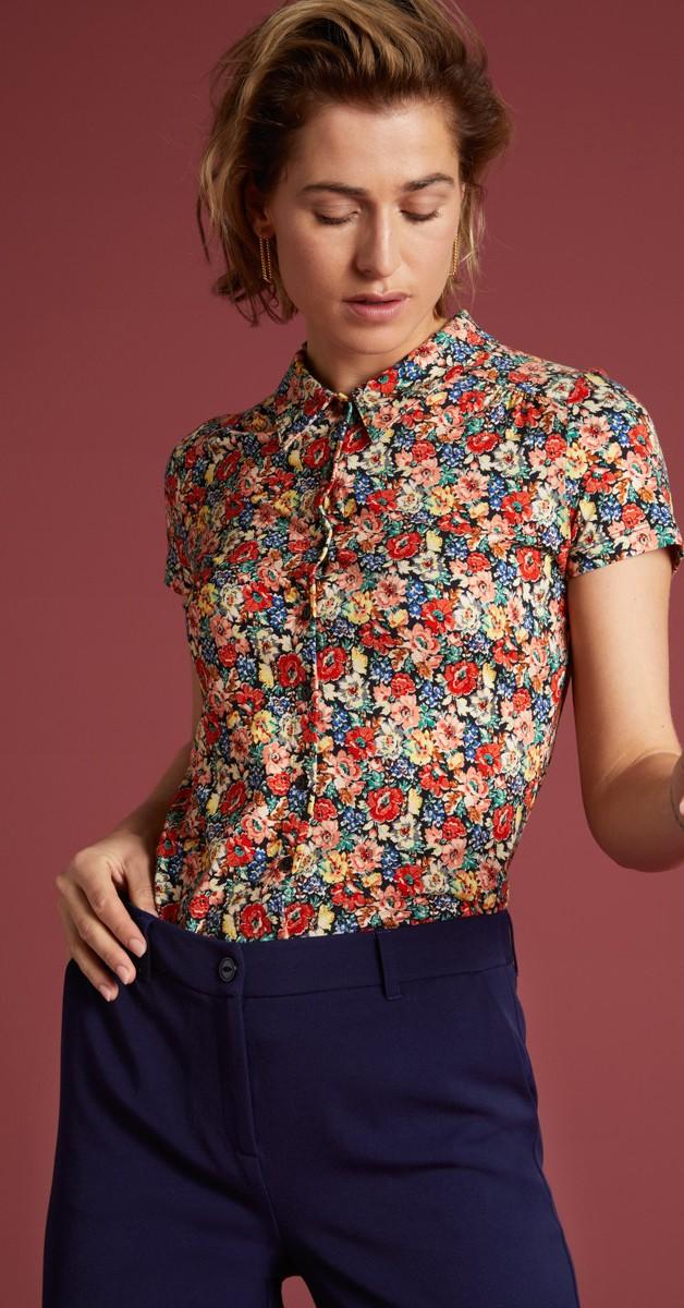 Vintage Stil 60's Mode - Blouse Santa Rosa