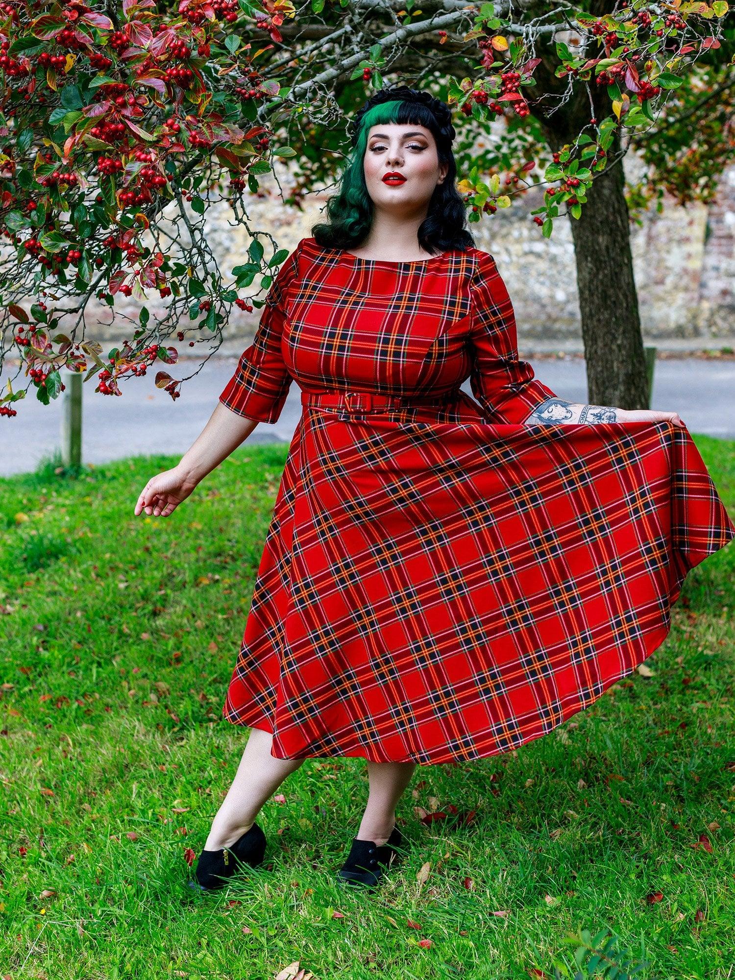 Kleid - Suzanne Berry Swing Dress